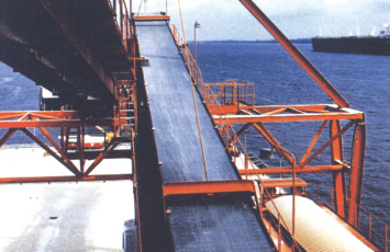 Flat conveyor belt